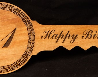Rimu 21st key - five designs to choose from!
