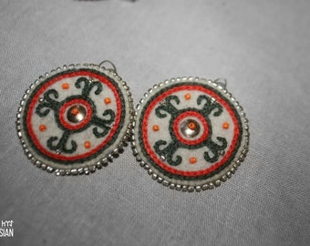 Four Sides of The World earrings