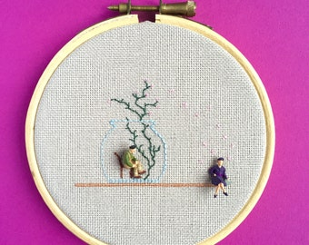 Embroidery Art Piece (Untitled, 2015)