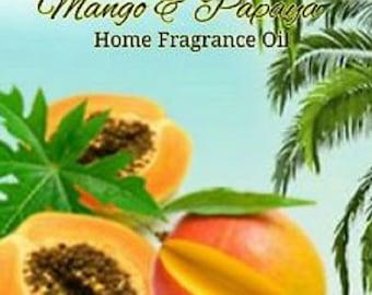 Flora Mango Palmwood Scented Warming Oil 1.86 FL OZ (55 ml)