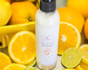 Goats Milk and Honey Lotion- Blood Orange