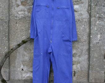 French Bleu de Travail Work Overalls Medium/Large Size