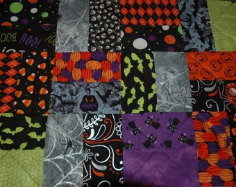 Halloween Quilted Table Place Mats