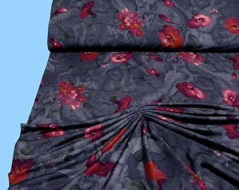JERSEY... Floral pattern (500018) - 2nd choice!