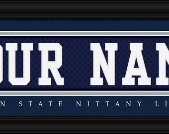 Penn state jersey etsy for Penn state decorations home