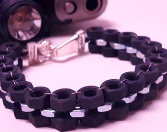 Men's Hex Nut Bracelet