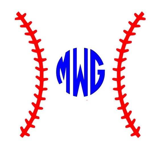 Baseball Softball Svg Dxf Eps Design Cutting Files For