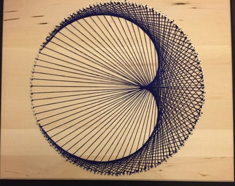 Geometric Cardioid String Art
