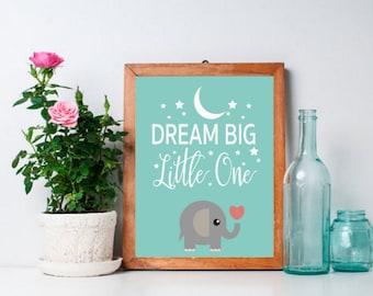 Nursery Art Elephant Art Nursery Decor Nursery Wall Art Nursery Print Nursery Printable Elephant Nursery Instant Download Kids Wall Art
