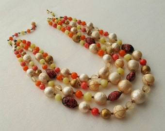 JAPAN beaded necklace