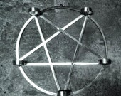 Inverted pentagram - candleholder