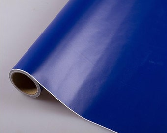 Solid Dark Blue Self Adhesive Contact Paper