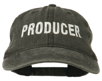 Producer Embroidered Washed Cap