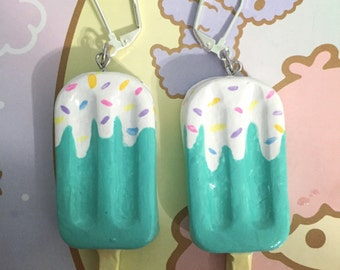 Frosted Popsicle Earring Set