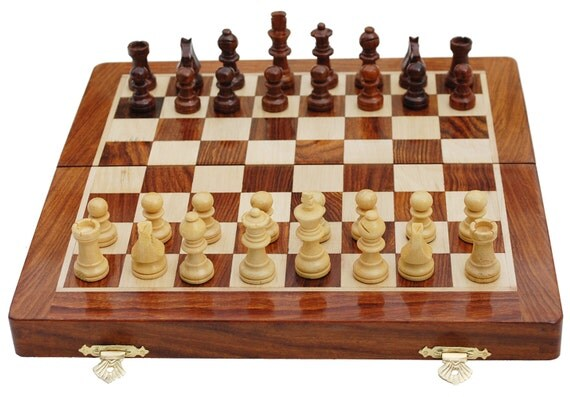 Magnetic Wooden Chess Set Sale Free Shipping 10 Wood By
