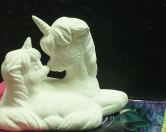 Unicorn Mother with her Baby