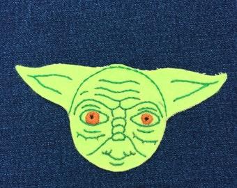 Star wars Yoda patch