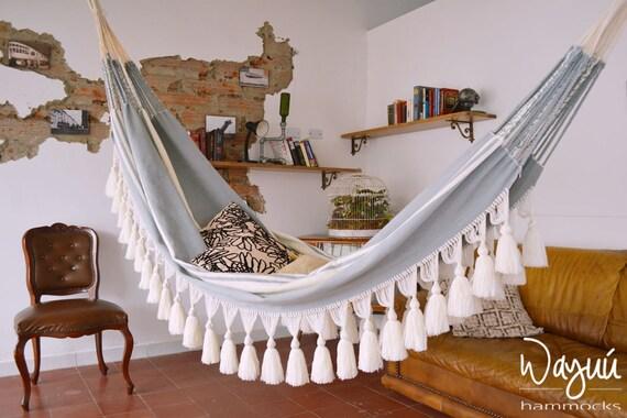 Sucre hammock, boho, beach house, hand woven, double hammock, outdoors, luxury hammock
