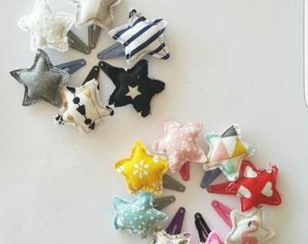 Strips stars fabric