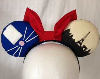 Ratatouille Mouse Ears with Bow