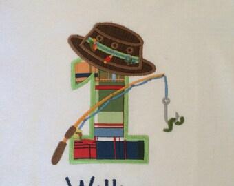 Birthday Fishing Theme Shirt