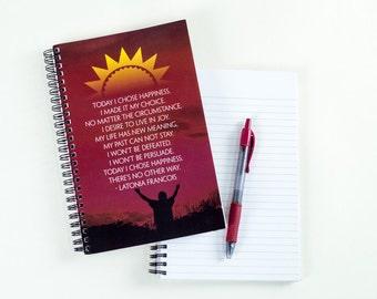 Choose Happiness Journal: Motivational Journal