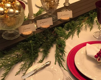 Rustic Place Card Holders, set of 20