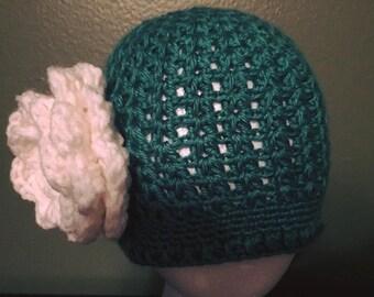 Cloche Flower Hat