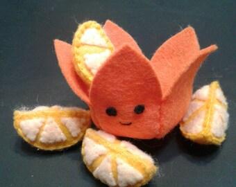 Juicy fruit Orange plushie