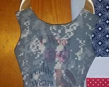 Army Tutu Dress Hair bow Holder