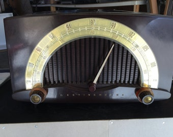 Westinghouse AM FM Radio from the 1950's