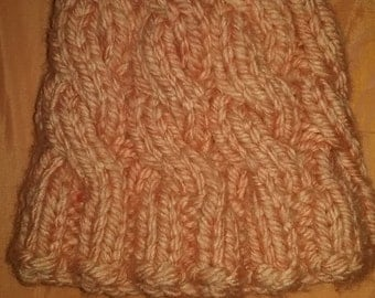 Super Bulky Cabled Hat