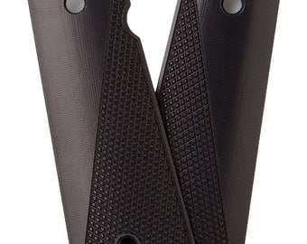 Alumagrips: All 1911 Slimline Tactical Checkering Grips