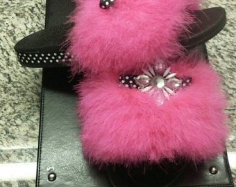 Pink Lady Custom Slippers