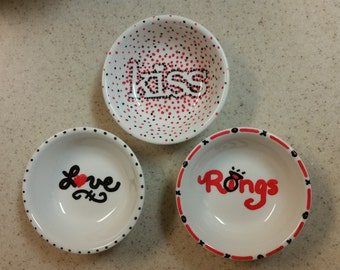 Ring dishes -