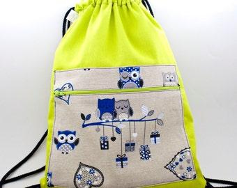 Owls backpack