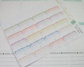 Mini Confetti Shadow Box Planner Stickers, Erin Condren Stickers,Happy Planner,Inkwell Press,Personal Planner {111Confetti Mini Box}