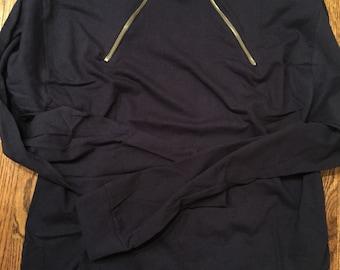 Adult zipper shirt - unisex sizing