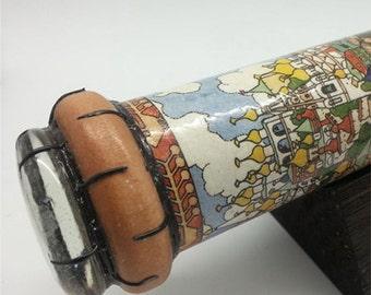 Kaleidoscope - Bilibin: Tsarevich, Russian Fairytale Handmade Collectible Toy