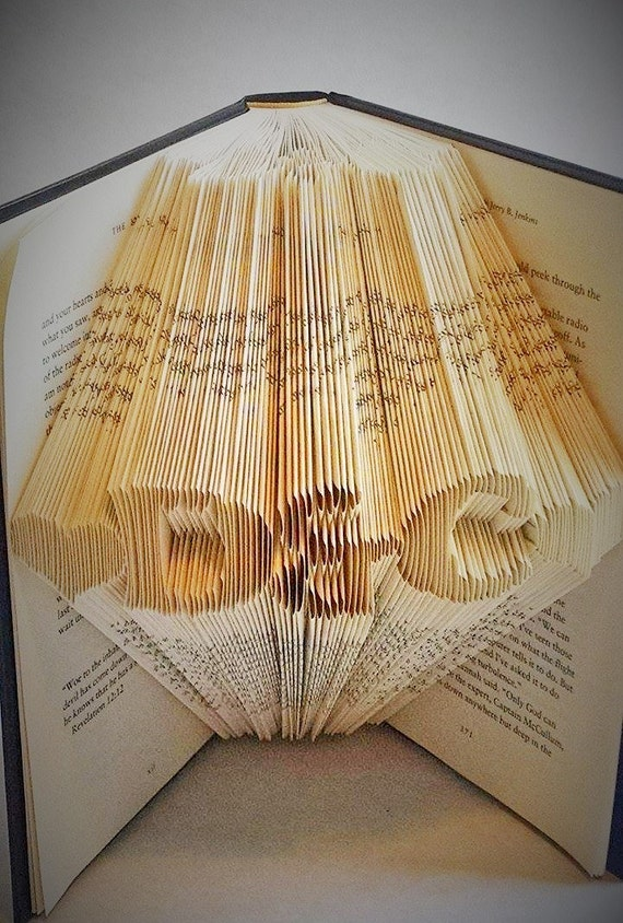 Christmas Gifts for Boyfriend/ Girlfriend - Folded Book Art - Customized Gift - Gifts for her - Gifts for him - Holiday Gifts