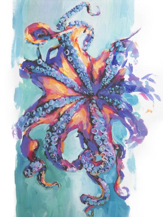 Octopus ~ Original Painting