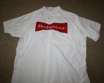 Budweiser Cintas Uniform Shirt XL