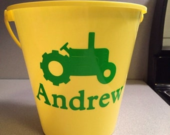 Easter Bucket/ Sand Bucket Personalized
