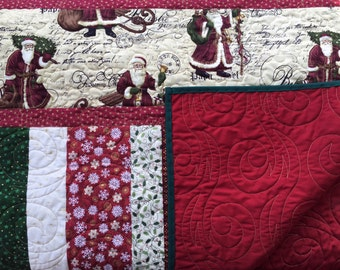 Christmas Quilt, Throw