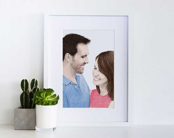 COLOUR Custom People/Couple Portrait