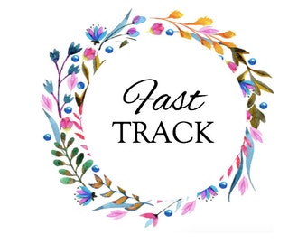 Fast Track Your Order