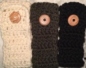 Adjustable Crochet Headwrap