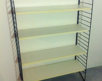 Great 50s string shelf with white floors
