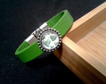 Heart of hearts - BSV6 leather bracelet