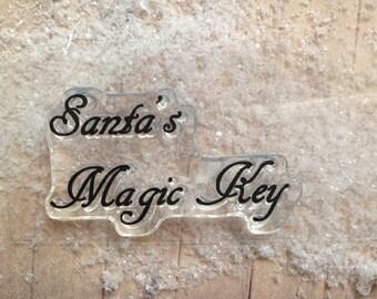 Santa's Magic Key Stamp